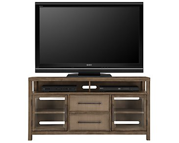 "Mirabelle Light Tone 62"" TV Stand"
