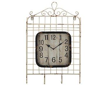 Muna Metal Square Wall Clock