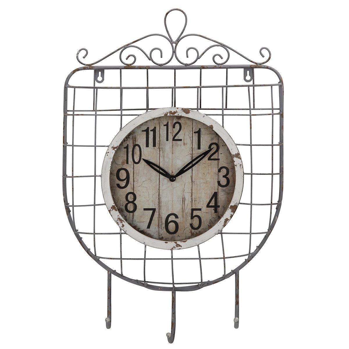 Muna Metal Curved Wall Clock