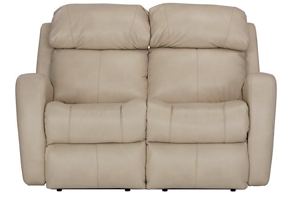 Super Finn Light Beige Micro Reclining Loveseat Living Room Cjindustries Chair Design For Home Cjindustriesco