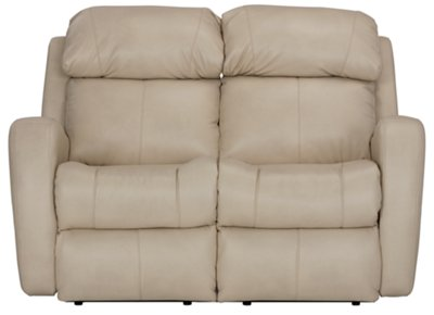 Finn Light Beige Microfiber Power Reclining Loveseat  sc 1 st  City Furniture & City Furniture: Finn Lt Beige Microfiber Power Reclining Loveseat islam-shia.org