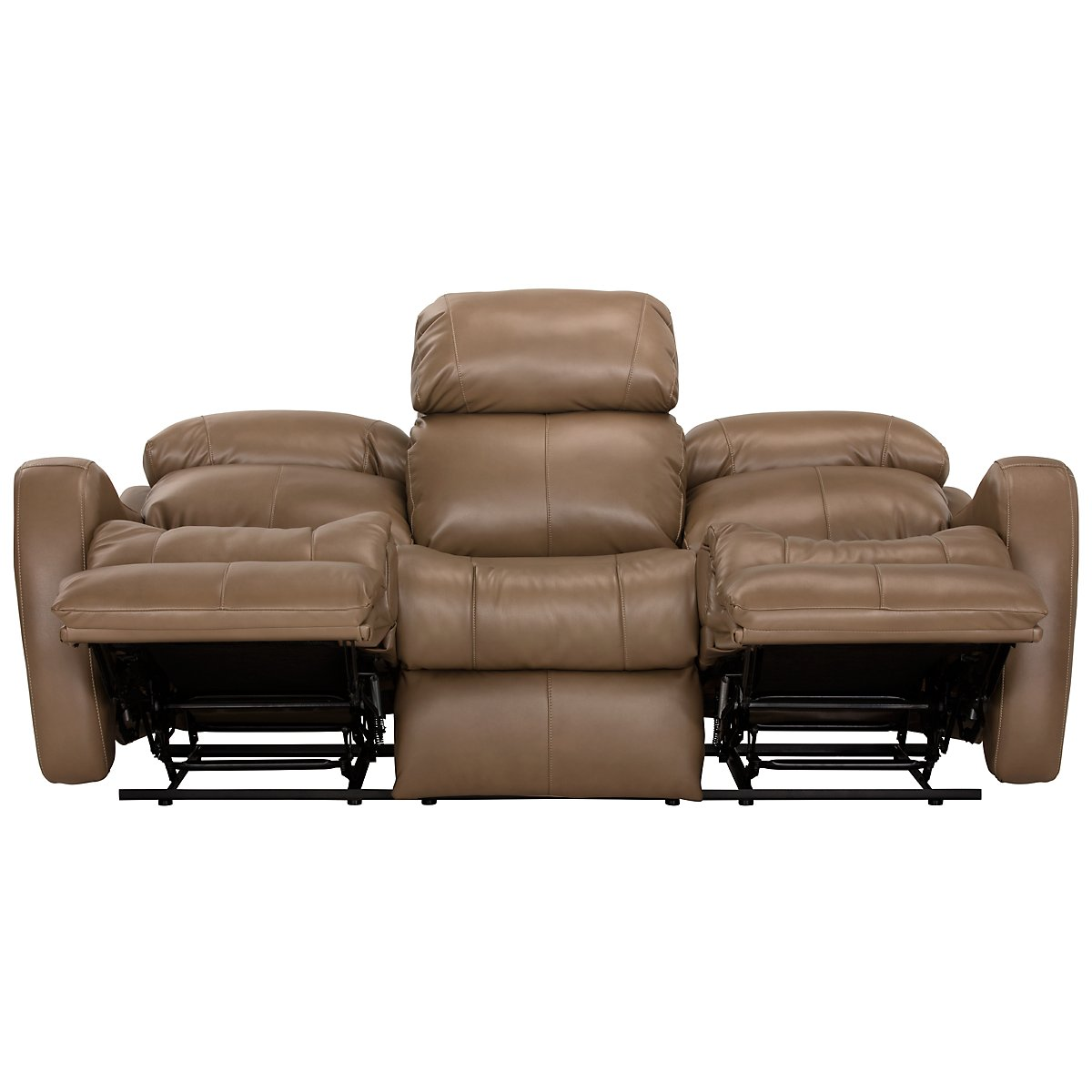 Brown microfiber reclining sofa 2 seat reclining sofa microfiber okaycreations thesofa Brown microfiber couch and loveseat