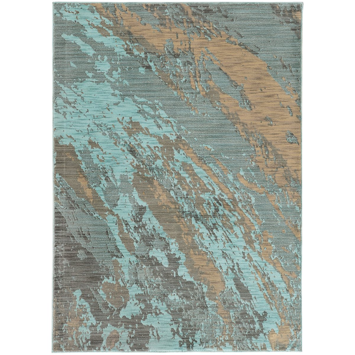 Sedona Light Blue 5X8 Area Rug