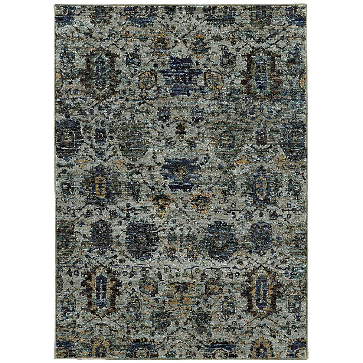 Andora Multicolored 5x8 Area Rug