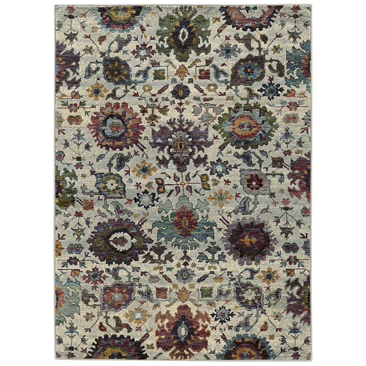 Adrina Multicolored 8X11 Area Rug