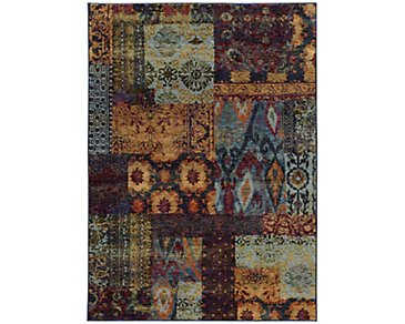 Dora Multicolored 5X8 Area Rug