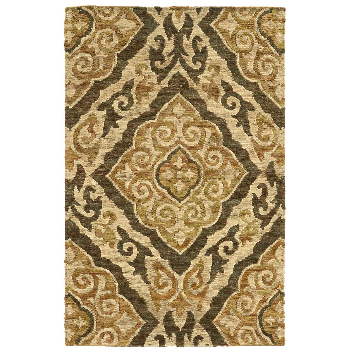 Valencia Green 5X8 Area Rug