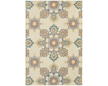 Hampton Multicolored Indoor/Outdoor 8x11 Area Rug