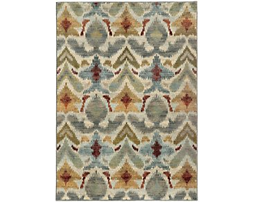 Sedona Multicolored 5X8 Area Rug