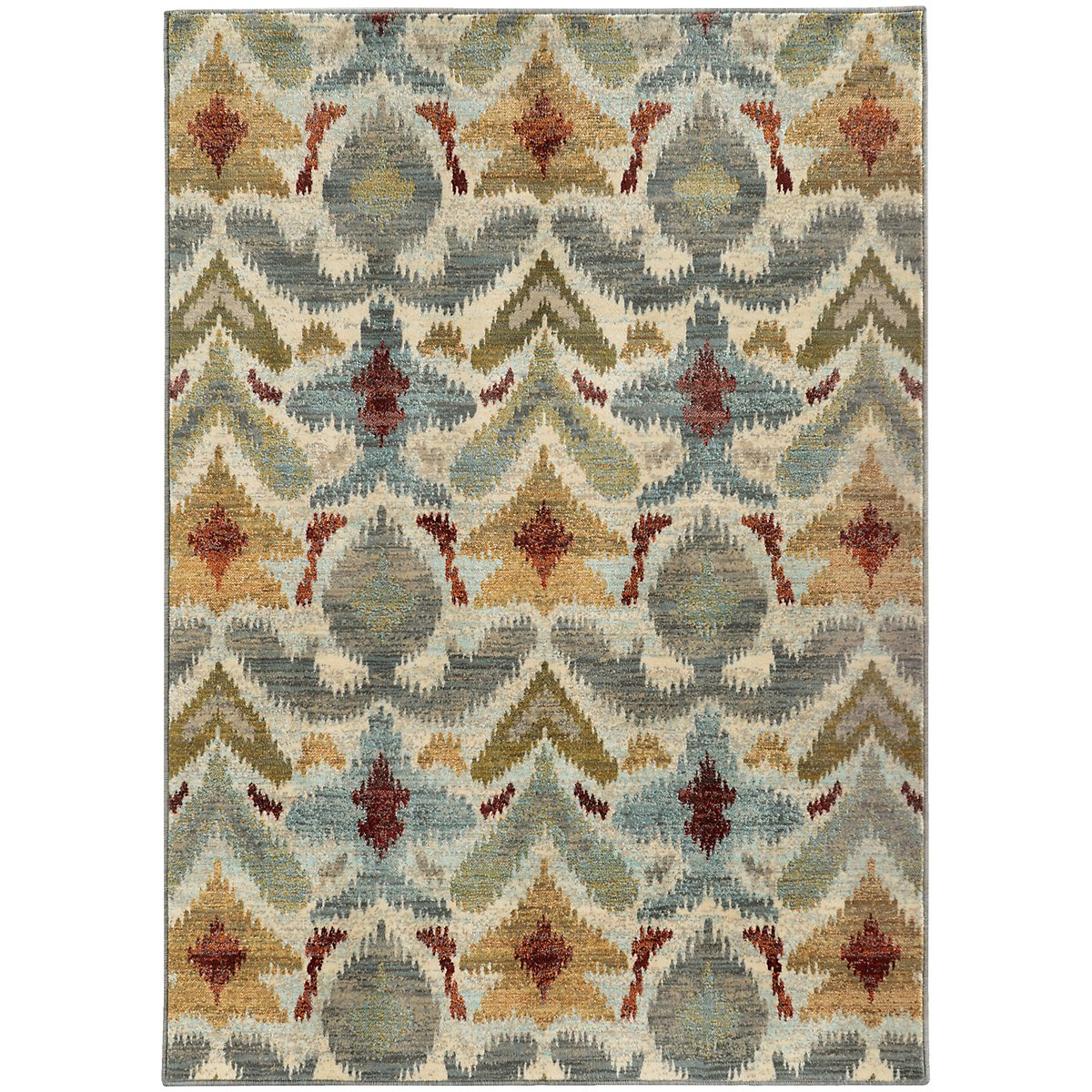 Sedona Multicolored 8x11 Area Rug
