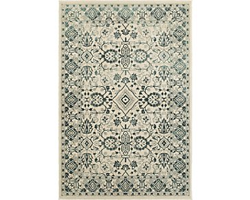 Jayden Dark Blue 5X8 Area Rug