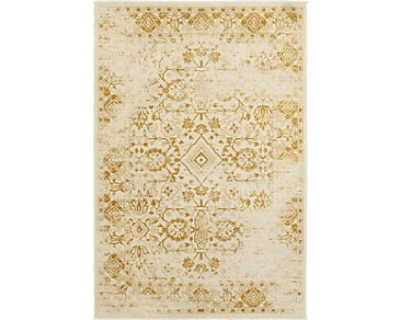 Jayden Gold 5X8 Area Rug