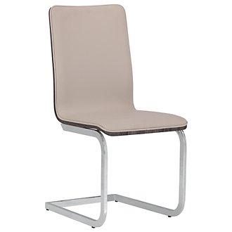 Kendall Beige Upholstered Side Chair