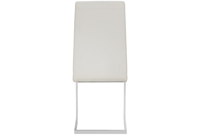 Axel White Upholstered Upholstered Side Chair