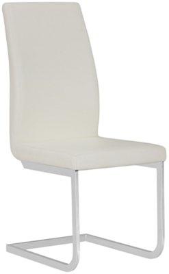 Axel White Upholstered Upholstered Side Chair ...