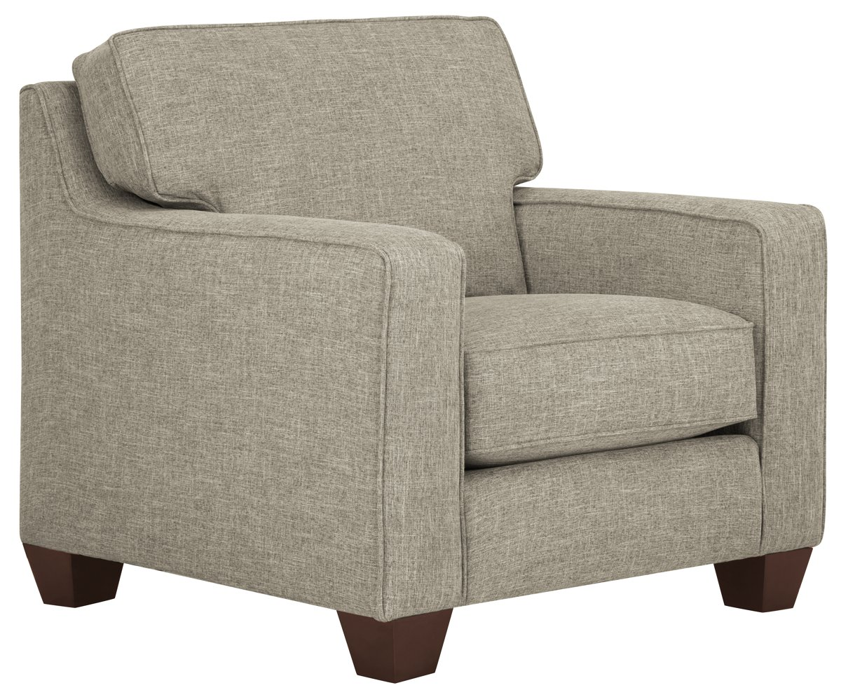 York Pewter Fabric Chair
