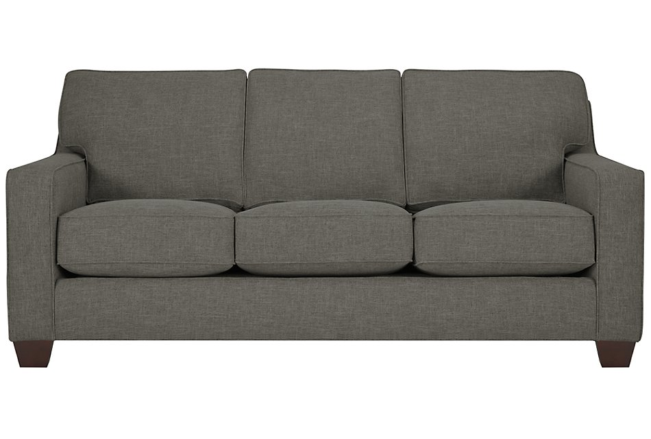 York Dark Gray  Fabric Sofa