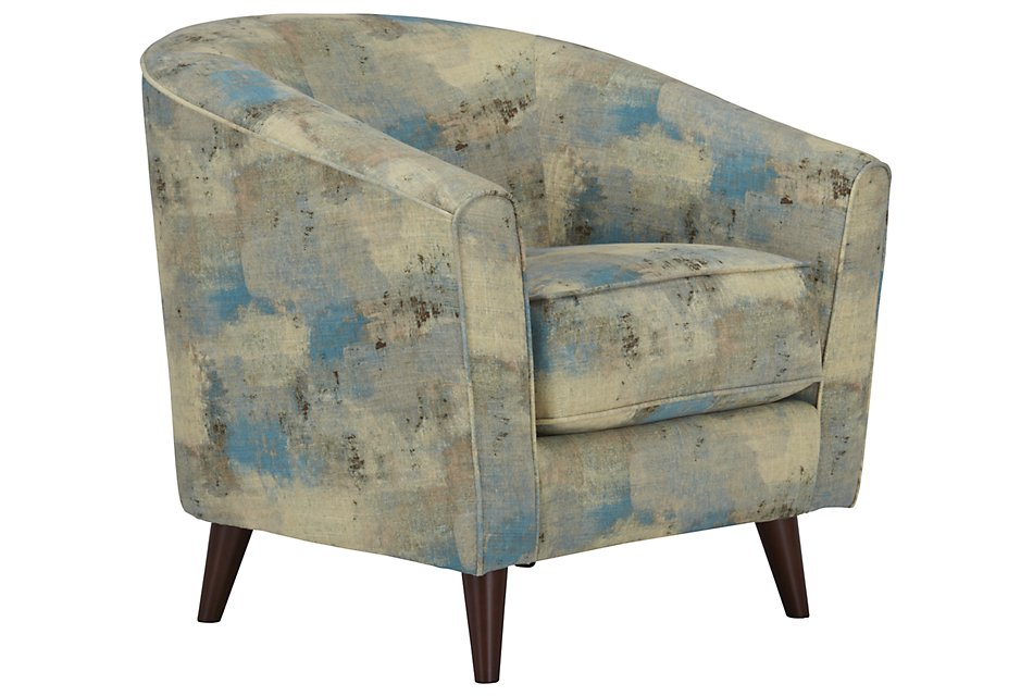 Peachy Antalya Teal Fabric Accent Chair Home Accents Accent Lamtechconsult Wood Chair Design Ideas Lamtechconsultcom