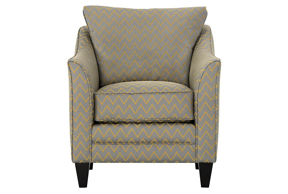 Excellent Lulu Gray Fabric Accent Chair Home Accents Accent Chairs Andrewgaddart Wooden Chair Designs For Living Room Andrewgaddartcom