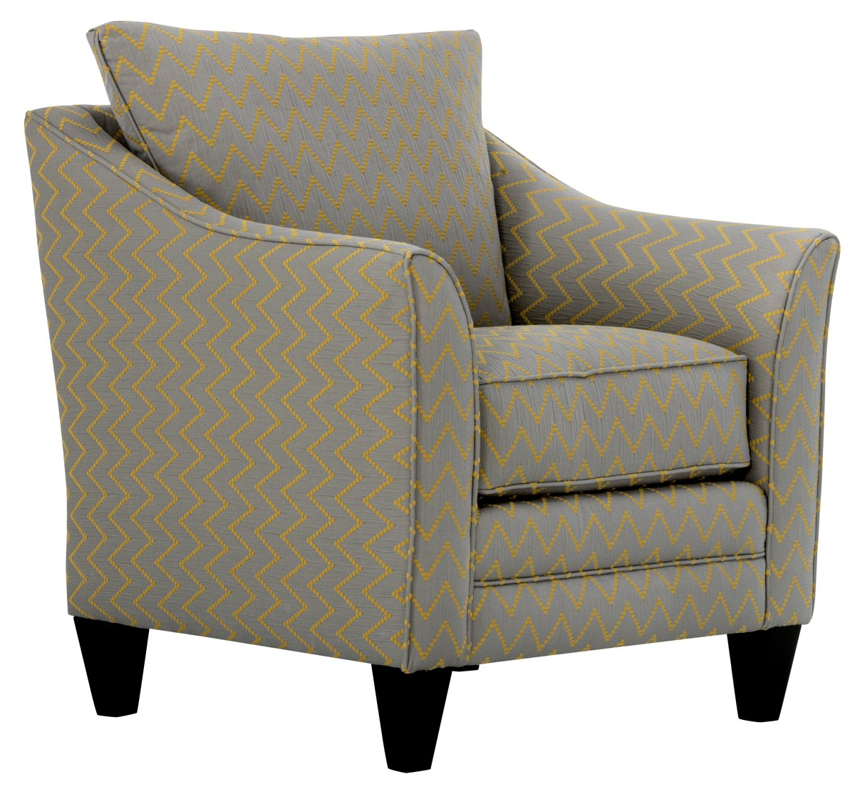 accent chairs living room lulu gray fabric accent chair 12114