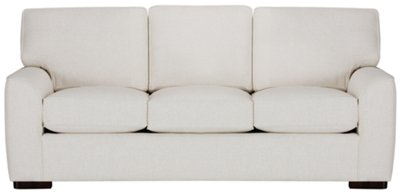 austin white fabric sofa rh cityfurniture com