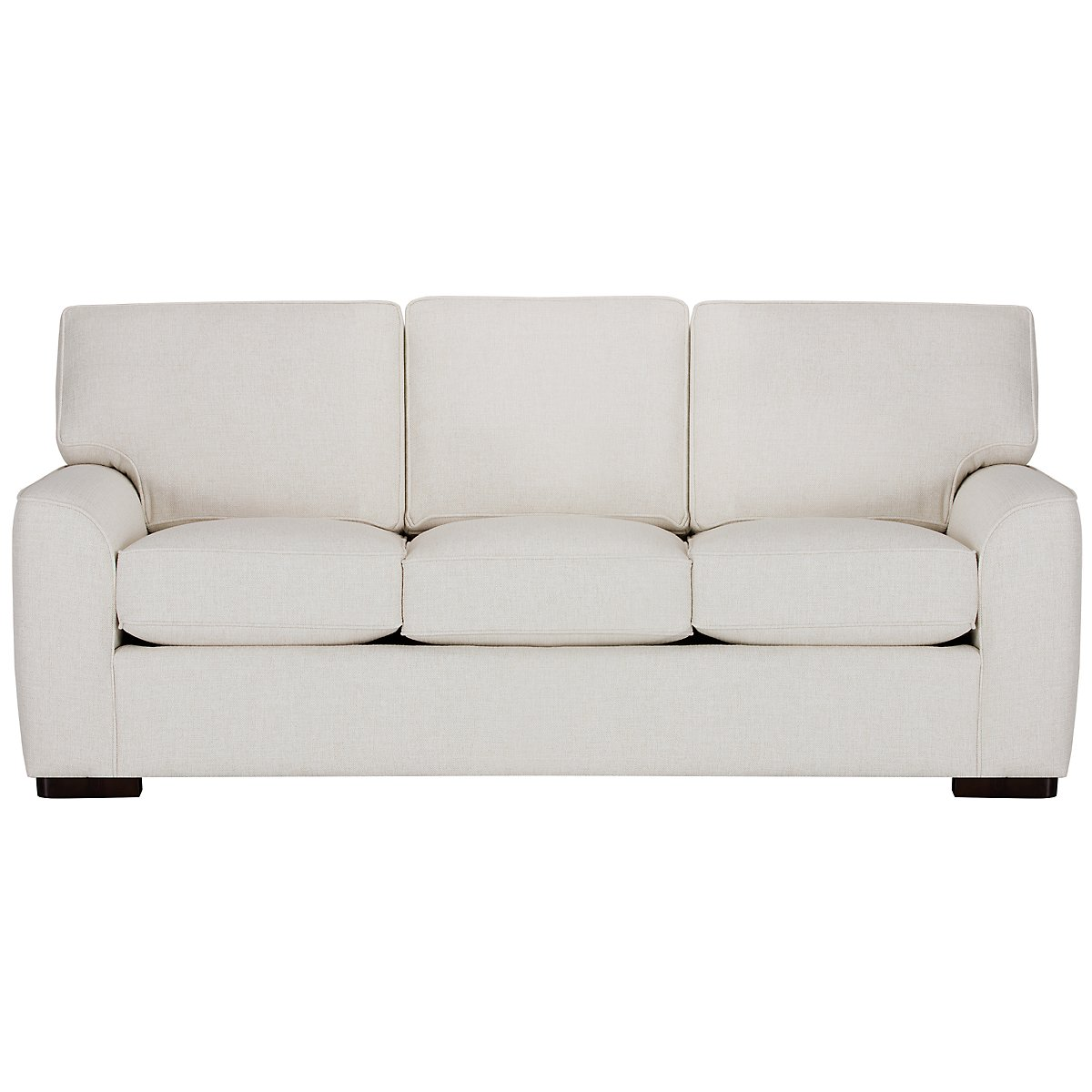 City Furniture Austin White Fabric Sofa