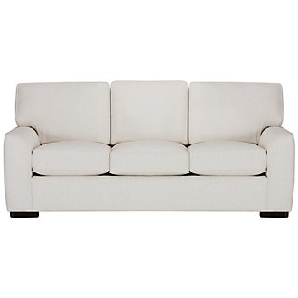 Austin White Fabric Sofa