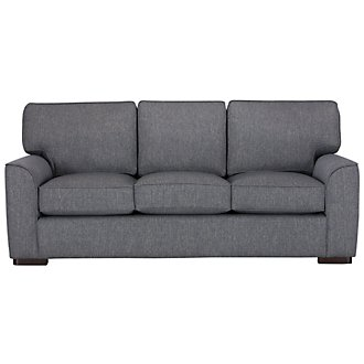 Austin Blue Fabric Sofa