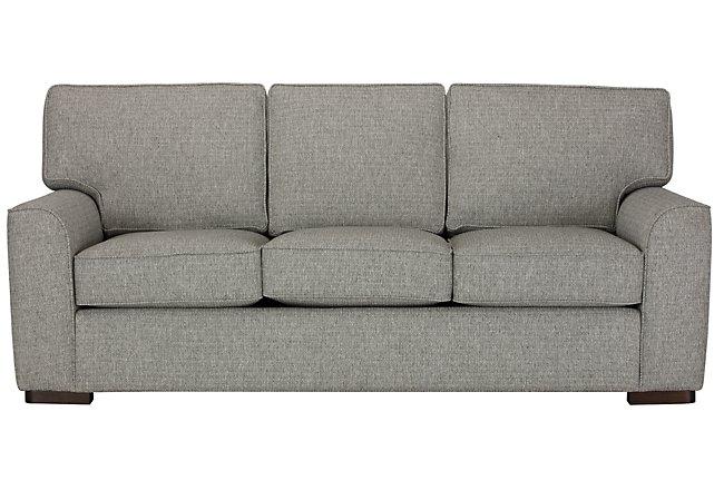 Austin Gray Fabric Sofa Living Room Sofas City Furniture