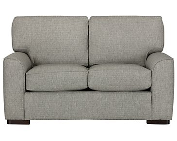 Austin Gray Fabric Loveseat