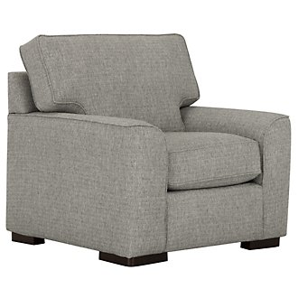 Austin Gray Fabric Chair