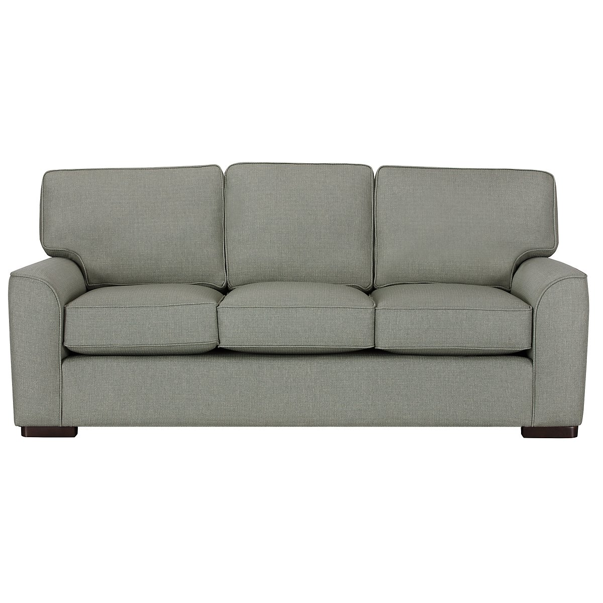 Austin Green Fabric Sofa