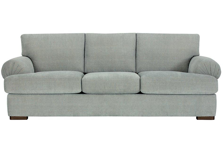 Marvelous Belair Light Blue Fabric Sofa Living Room Sofas City Inzonedesignstudio Interior Chair Design Inzonedesignstudiocom