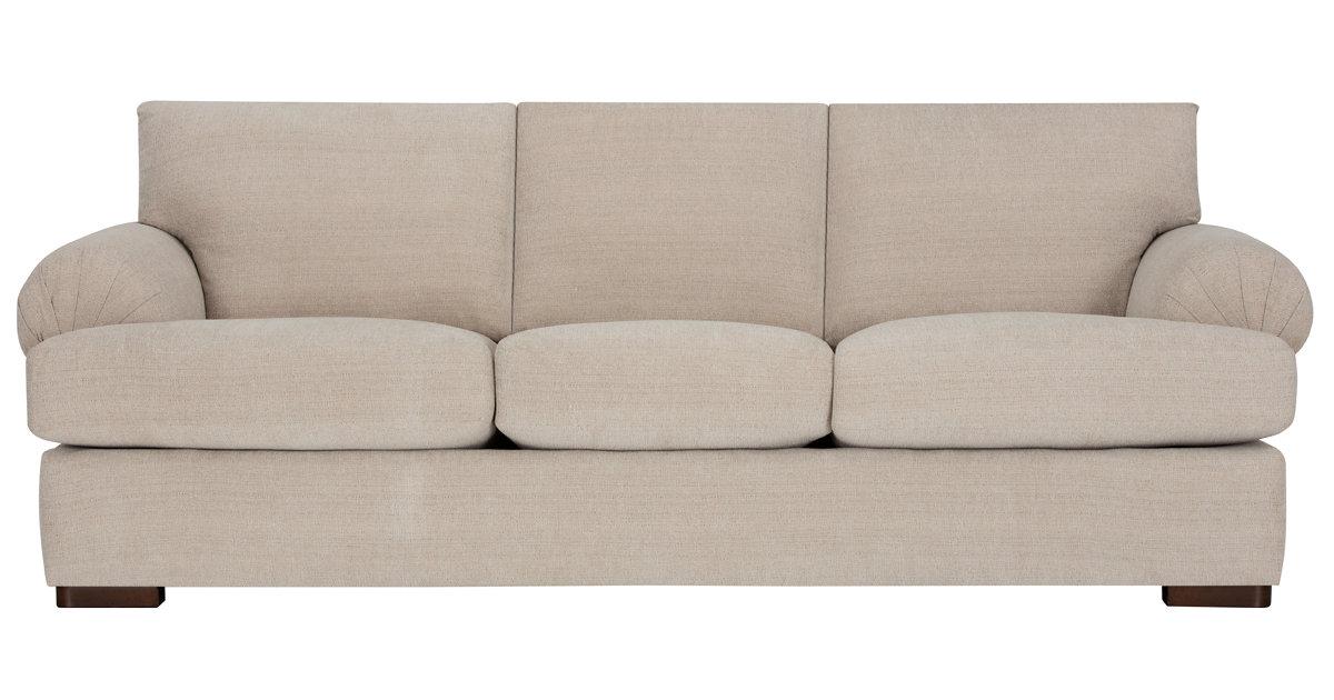 Belair Light Taupe Fabric Sofa