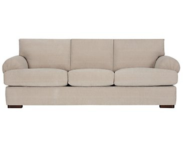 Belair Light Taupe Fabric Sofa
