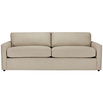 Macall Light Beige Fabric Sofa