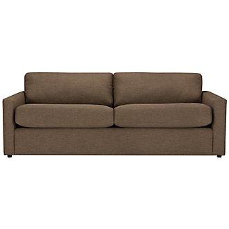 Macall Brown Fabric Sofa