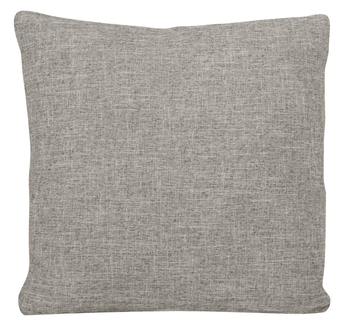 Paradigm Pewter Fabric Square Accent Pillow