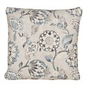 Sylvie Blue Fabric Square Accent Pillow