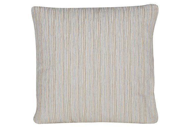 Cinna Light Blue Square Accent Pillow