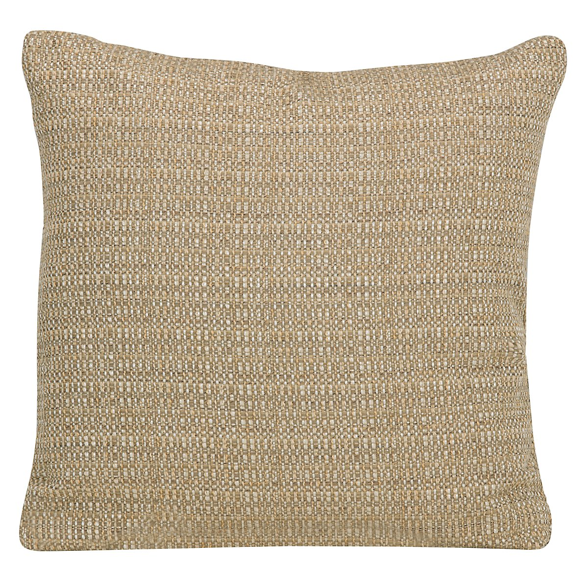 Jackie Gold Fabric Square Accent Pillow