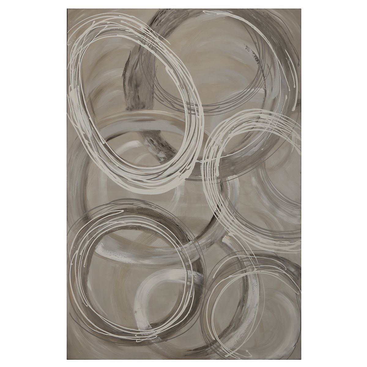 Rings Canvas Wall Art