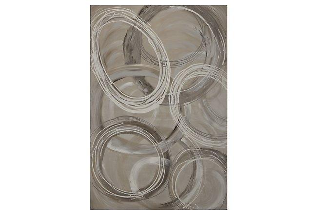 Rings Canvas Wall Art