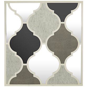 Spade Multicolored Mirror