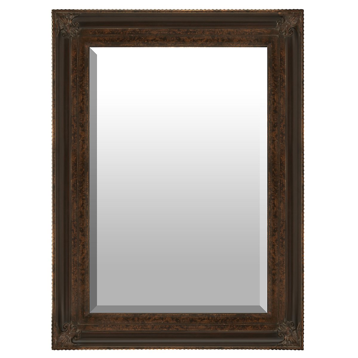 Macon Dark Brown Mirror