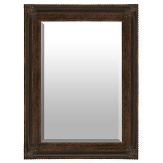Macon Dark Brown Mirror