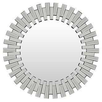 Zipper Silver Mirror