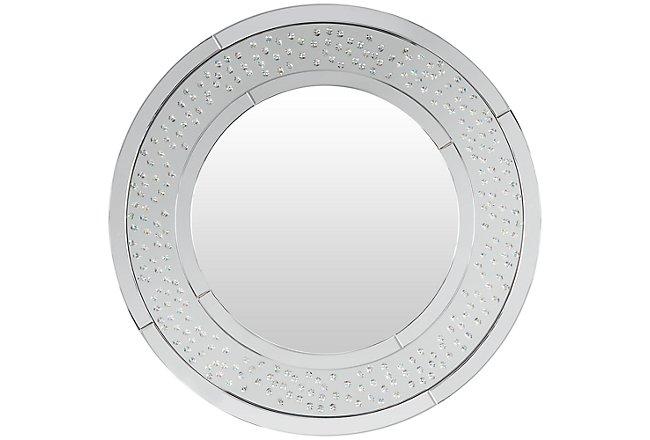 Brando Silver Metal Mirror