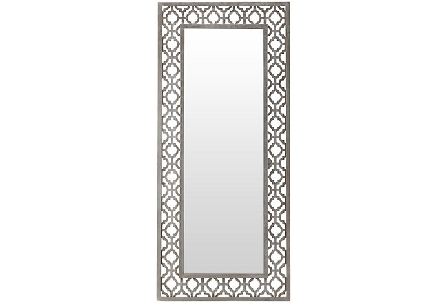 Skyla Metal Floor Mirror
