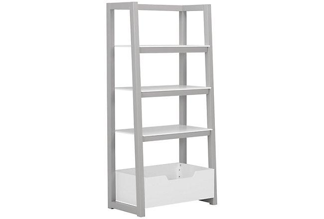 Gateway Two-Tone Wood Ladder Shelf